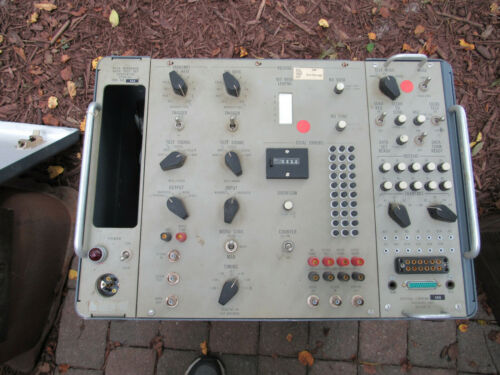 Vintage Western Electric 912A Data Test Set J7912A Bell Telephone Repair