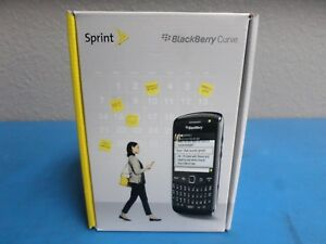Brand New - BlackBerry Curve 9350 - Black Smartphone (Sprint)