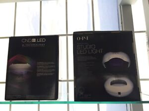 CND and OPI led lamp and UV lamp