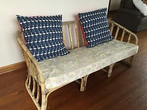 Vintage cane lounge Narraweena Manly Area Preview