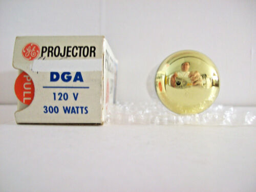 DGA Projector Projection Lamp Bulb 300W 120V GE BRAND  *AVG. 25-HOUR LAMP*