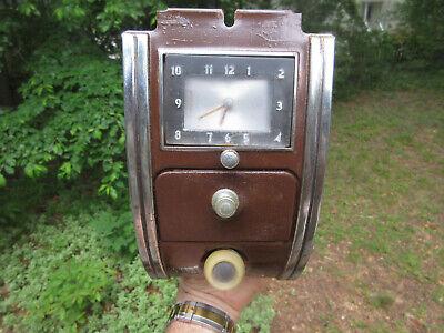 1949 1950 Chevrolet Special Deluxe Dashboard Clock Ashtray & Cigarette Lighter