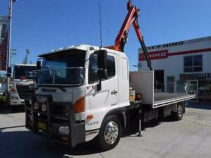 2013 Hino 500 Series FE 1426 Crane truck Old Guildford Fairfield Area Preview