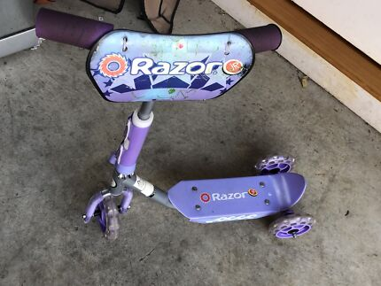 Razor kids kick scooter height adjustable