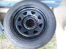 """2x dynamic 16"""" Sunraysia rims and tyre Mount Gravatt East Brisbane South East Preview"""