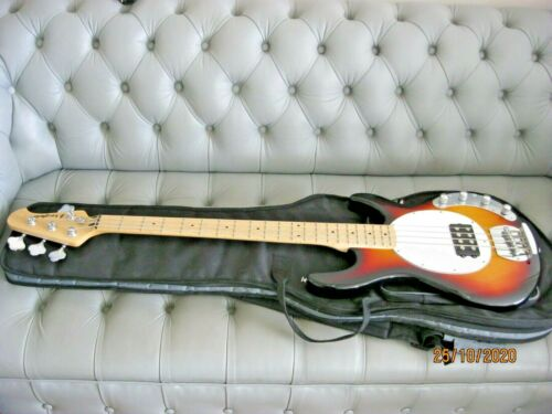 Westfield Four String Bass Electric Guitar With Soft Case.
