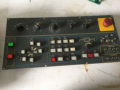 Yang Smv 1000 Cnc Operator Control Panel