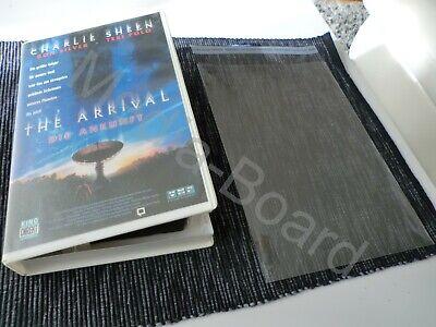 20x VHS Video Kassetten Schutzhüllen Folien für VHS Verleih Tapes Cover Box E400 20 X Video