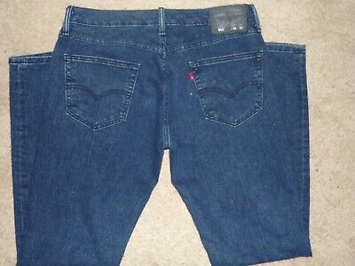 LEVI LEVIS 511 SKINNY MEN'S JEANS SIZE 32 X 34 RED TAB