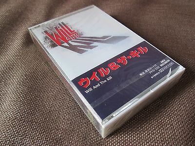 Sealed! WILL&THE KILL S/T JAPAN PROMO CASSETTE TAPE w/PS PKG-3338 Charlie Sexton