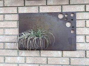 Outdoor rust planter Albert Park Charles Sturt Area Preview