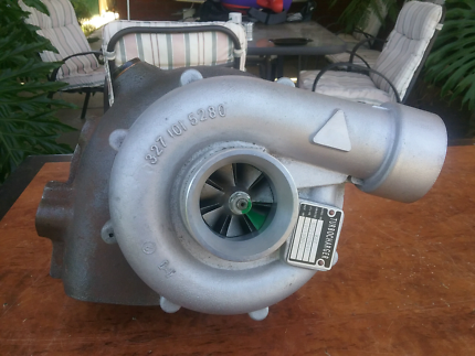 BOAT MOTOR TURBOCHARGER