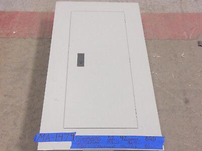 Siemens 250 Amp Panel Panelboard Mlo 3 Phase Breaker 480v277v 225 200 150 42sp