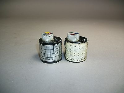 Lot Of 2 Daniels Dmc Turret Head Positioner N99 N7