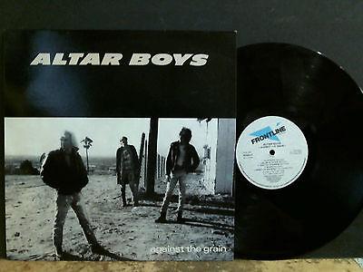 ALTAR BOYS  Against The Grain   LP  Vinyl   Christian Rock   NEAR-MINT !