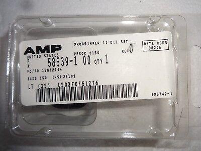 Amp Procrimper Ii Die Set 58539-1 50 Ohm Bnc Connectors Coax O -crimp New