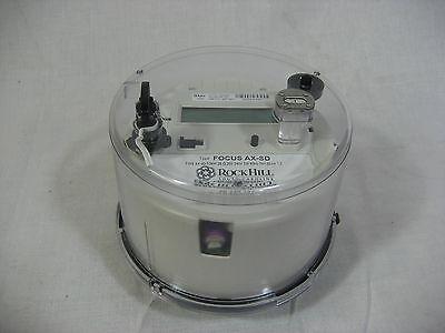 Landis Gyr Ax-sd Electric Meter Cl200 3w 240v 7.2kh 60hz Focus Nib