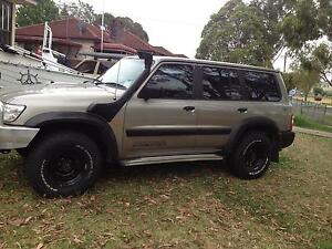 2002 nissan patrol gu 3 turbo diesel4x4  3L 10 month rego Yagoona Bankstown Area Preview