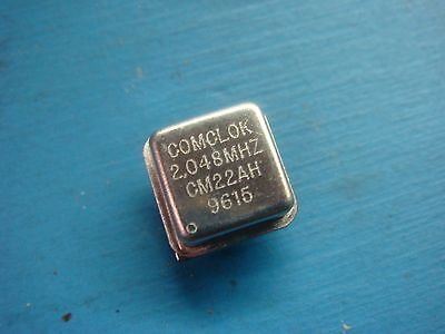 5 Comclok Cm22ah-2.048 Mhz 5v Hcmos 8 Pin Crystal Clock Oscillator 2.048