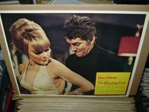 THE WRECKING CREW, orig 1968 LC #1 [Dean Martin, Elke Sommer]