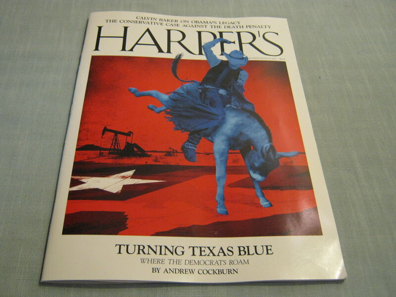 HARPER'S MAGAZINE March 2017 TURNING TEXAS BLUE Obama's Legacy THE DEATH PENALTY