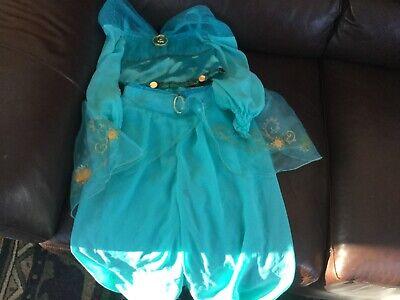 Authentic Disney Store JASMINE Deluxe Princess Aladdin Dress Up Costume Girls 4](Authentic Princess Jasmine Costume)