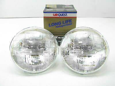 (2) Carquest H5006LL Long Life Sealed Beam Headlight Headlamp 5-3/4 12V 35W