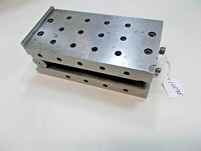 Nice 3 X 6 Precision Sine Plate Machinist Fixture Gage Milling Grinding Usa