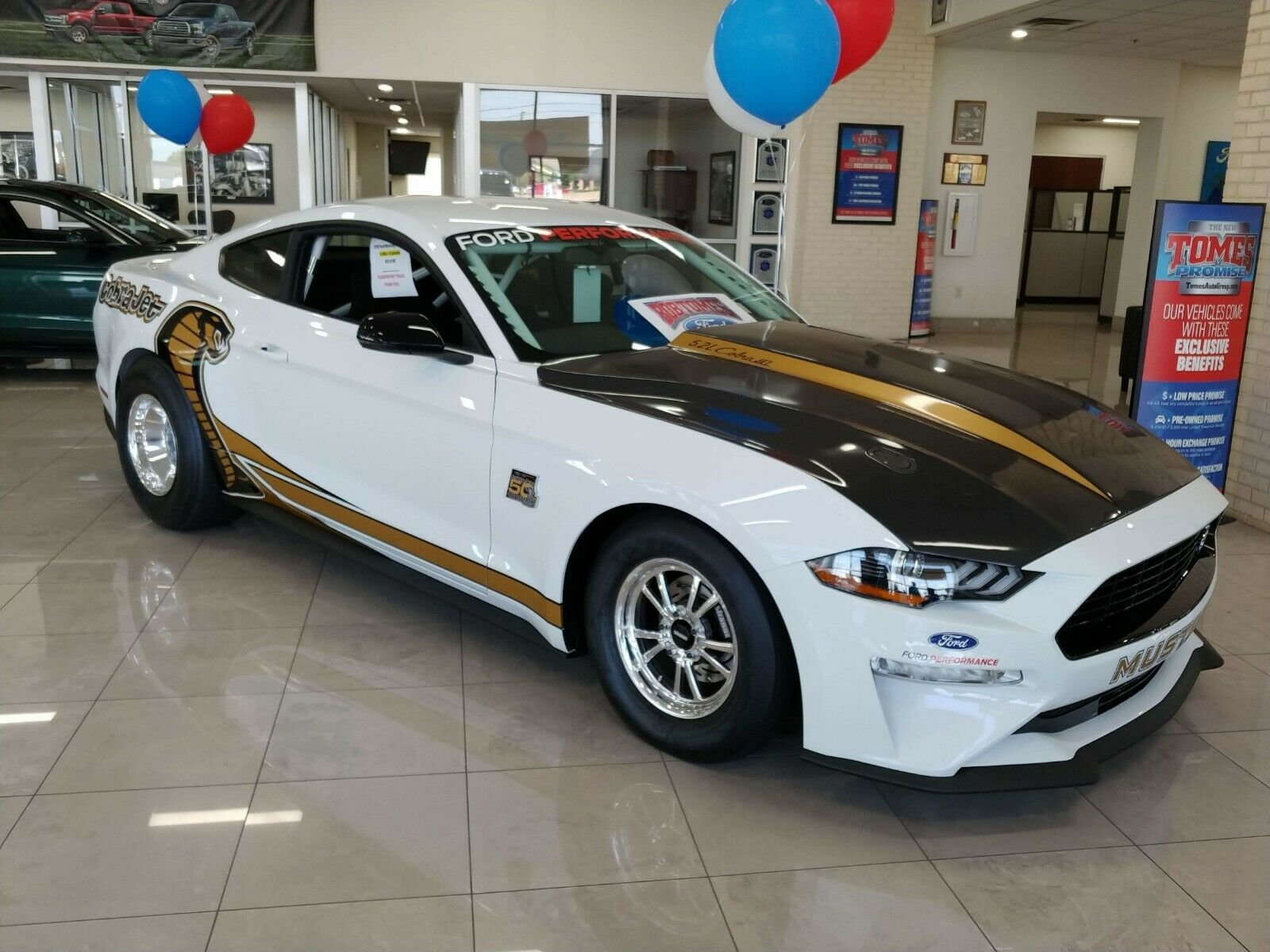 2018 Ford Mustang Cobra Jet- 50th Anniversary Edition