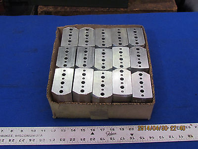 5 New Sets Of Large High Aluminum Jaws For Northfield Chuck   A-0913-14