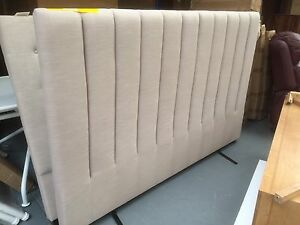 Factory second fabric vertical king bed head Dandenong South Greater Dandenong Preview