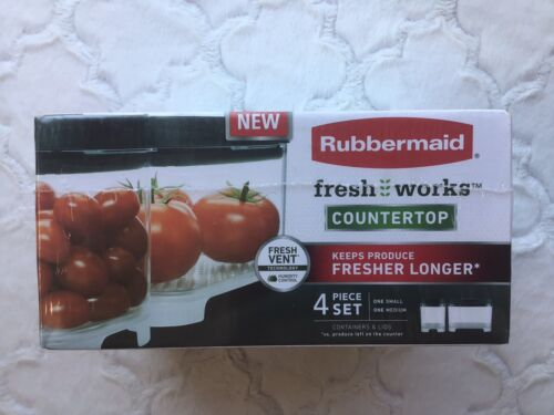 Rubbermaid Freshworks Countertop Produce Saver Container & L