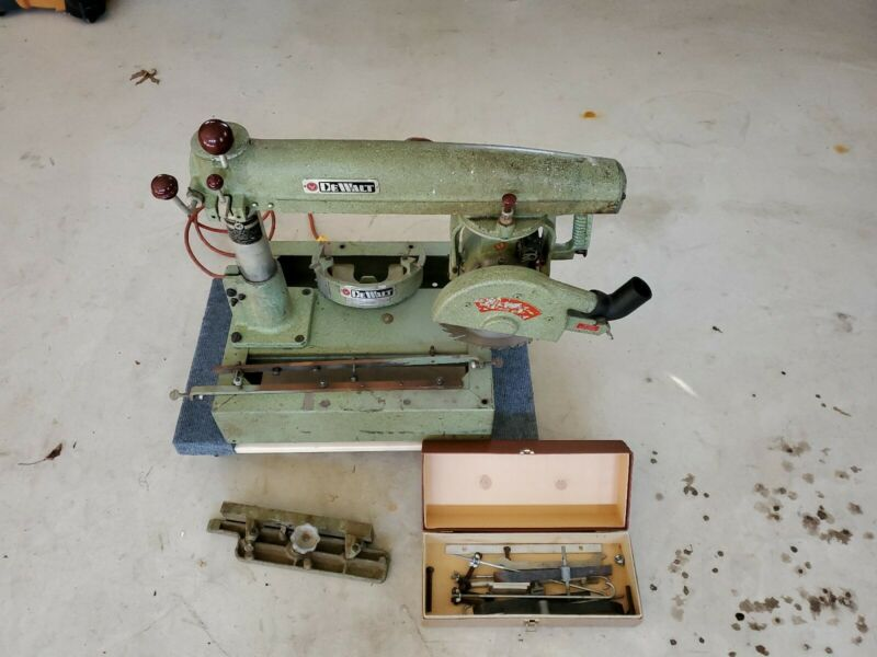 Vintage Dewalt (Model MBF) Radial Arm Saw