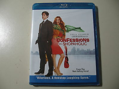 Confessions of a Shopaholic (Blu-ray 2010) Brand New and Sealed