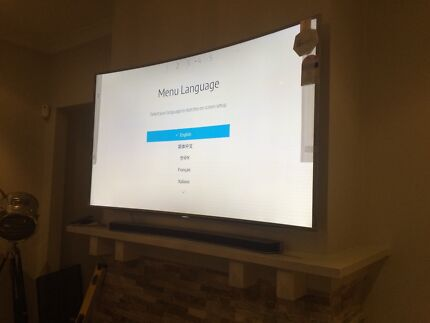 Classy TV installation. Television mounting to wall Green Valley Liverpool Area Preview