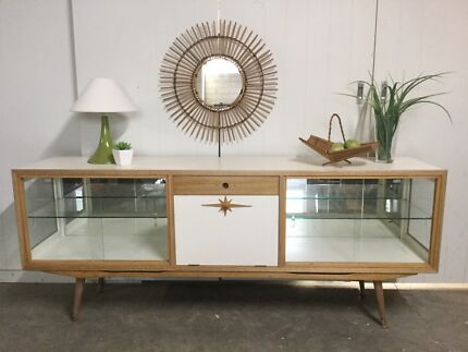 Large retro vintage sideboard / buffet