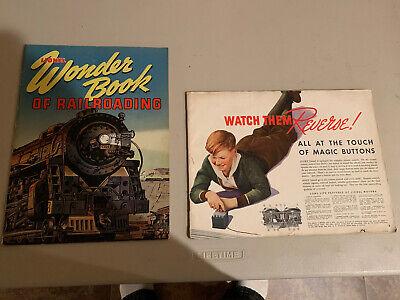 1943 Lionel Wonder Book Of Railroading And 1936 Lionel Catalog
