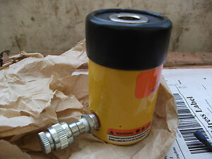 Enerpac RCH121 700 bar 10000 psi Hollow jack Hydraulic cylinder centre hole