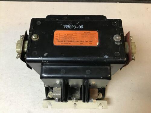 Ward Leonard RDP4-21100 Contactor With 120 Volt Coil; 180 Amp 500 Volt
