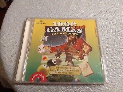 1000 Best Games for Windows (PC, 1998)W/Jewel Case