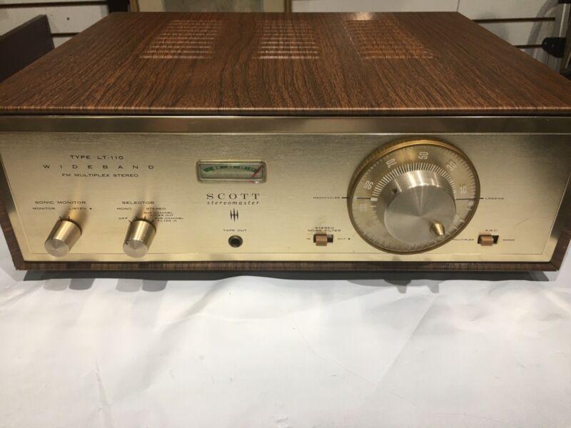 SCOTT  LT -110  Stereomaster FM STEREO MULTIPEX  TUBE TUNER