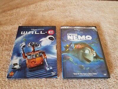 Disney Finding Nemo Wall - Walt Disney Pixar FINDING NEMO 2-Disc Collector's Ed & (WALL.E DVD) BOTH GREAT