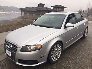 2006 Audi A4 2.0T fully loaded with quad exhaust