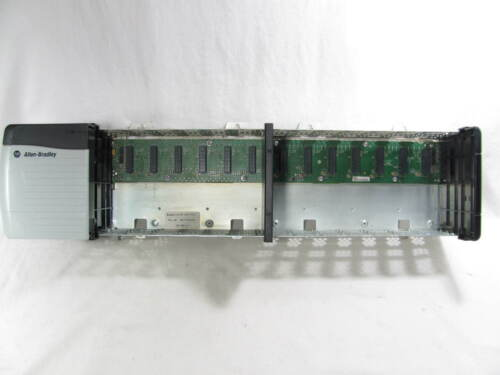 Allen Bradley, ControlLogix, 13-Slot Rack, 1756-A13, & Power Supply, 1756-PA75