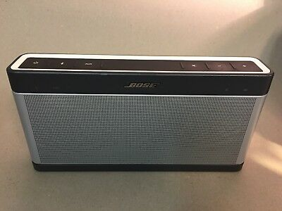 Bose Soundlink III Bluetooth Speaker - Silver