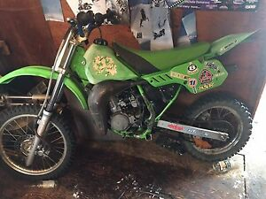 1990 kx 80 New motor  with parts bike !!!