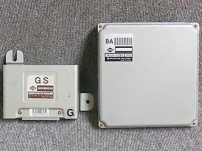 99 2004 Nissan Cedric Y34 M45 VQ25DD AT Engine Computer Auto Transmisson ECU OEM