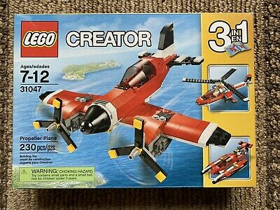 LEGO Creator 3 in 1 Propeller Plane (31047) NEW Factory Sealed