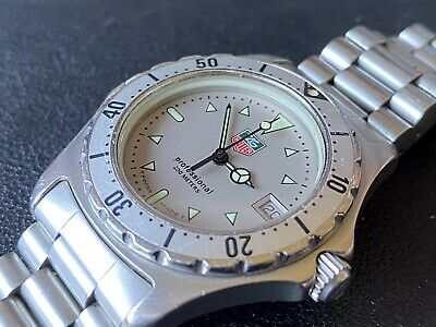 TAG Heuer 2000 Series Vintage Divers Watch
