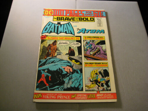 Brave And Bold #115  (DC, 1974)